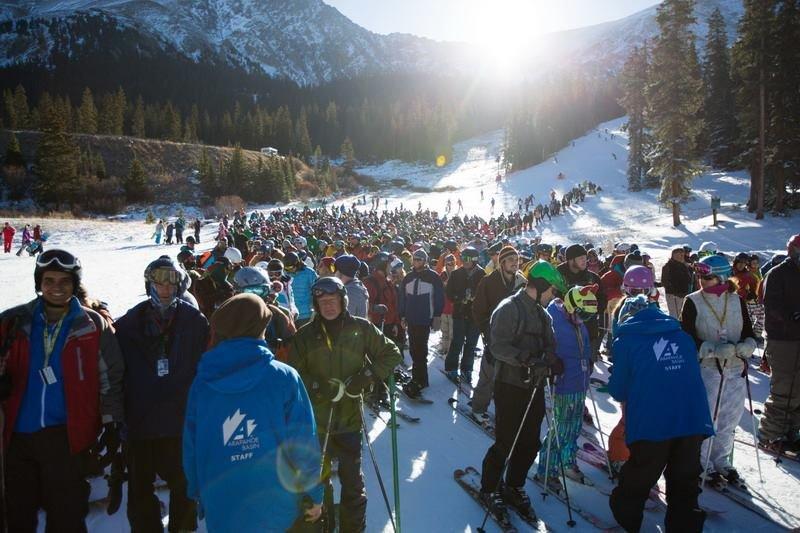 2013/2013 ski season, day #1 - ©Dave Camara/Arapahoe Basin Ski Area