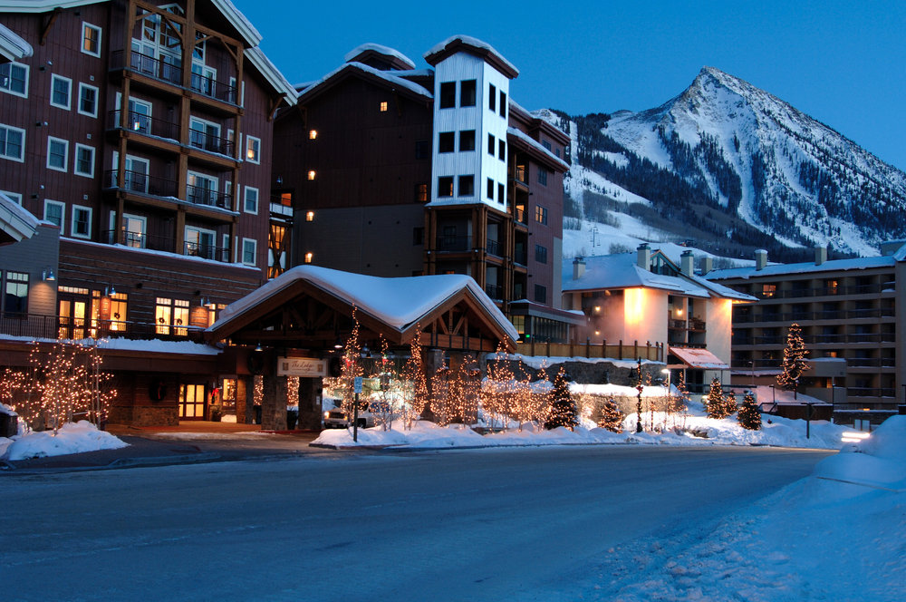 Slopeside accommodations at the Lodge at Mountaineer Square in Crested Butte.  - ©Courtesy of Crested Butte Mountain Resort.
