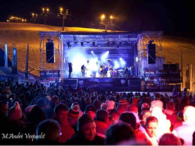 Glisse en Coeur charity event in Le Grand Bornand: 24 hours of skiing and concerts