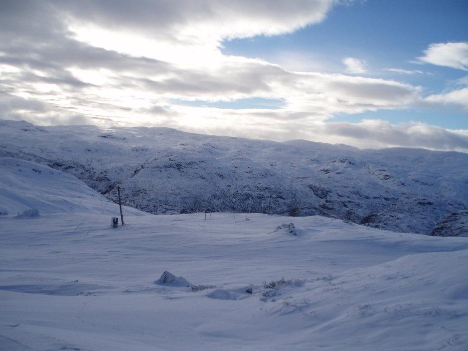 Powder in Haukeli Skisenter, Norway Nov. 7, 2013 - ©Nils Asbjørn Haugen