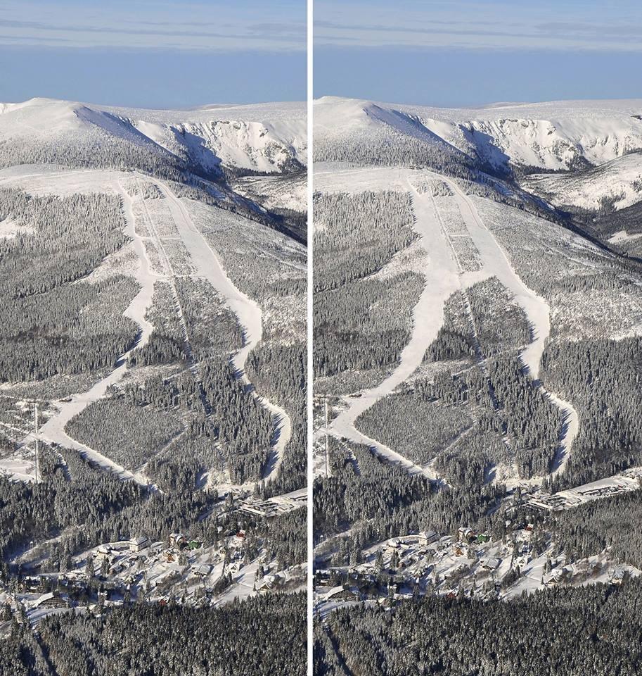 Špindlerův Mlýn - extended slopes - ©Špindlerův Mlýn facebook