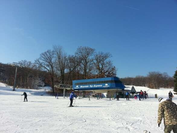 Sunny skies.  Fresh blown snow.  No crowds. Come on out!