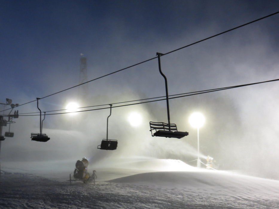 Snowmaking at Little Switzerland - ©Little Switzerland