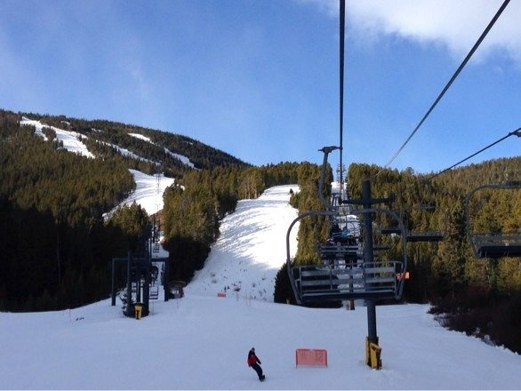 Great first day on skis this season !