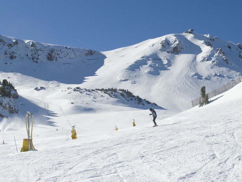 Mammoth Mountain in November, 2008