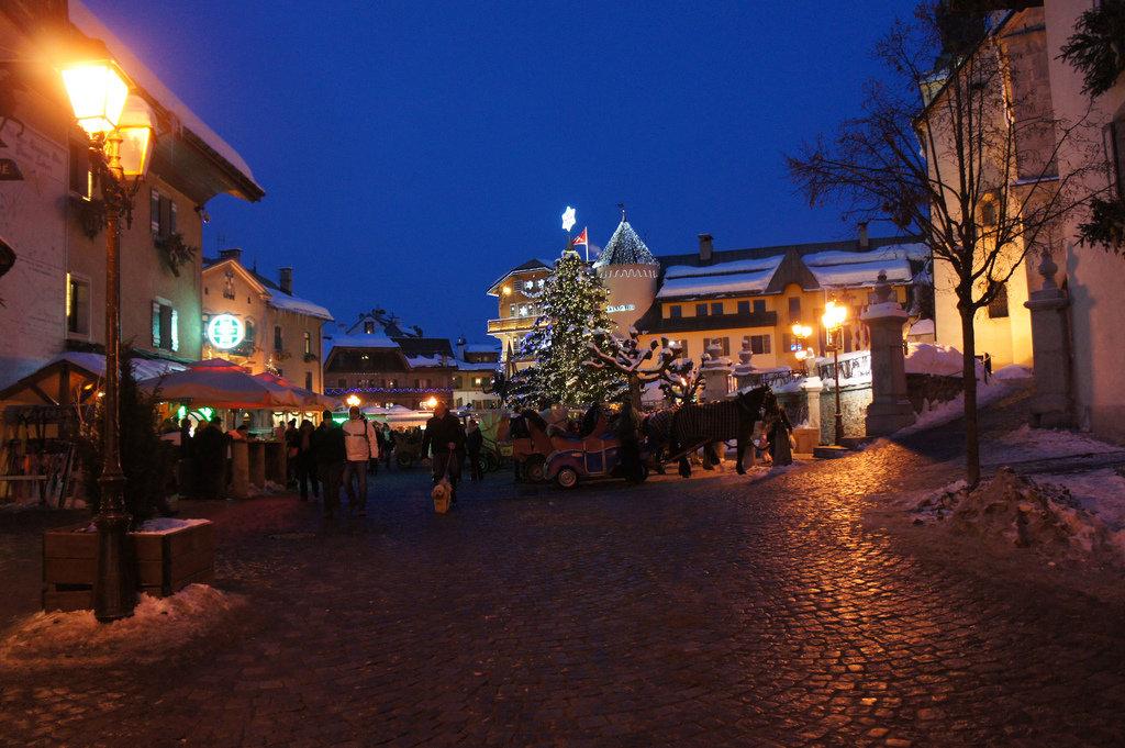 Megeve, France. Credit Jerome Deville