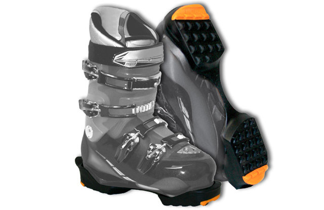 Yaktrax Ski: $20 For both technical and aesthetic reasons, it's a good idea to protect your boot soles during the walk to the chairlift. Yaktrax has one of the broadest selections of ski-specific and general winter traction accessories for any boot.