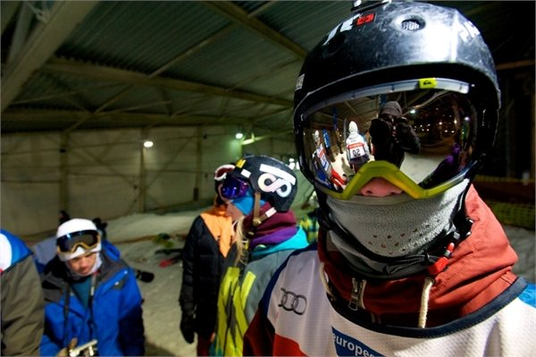 At the snowpark in SnowWorld Landgraaf (Holland) - ©SnowWorld