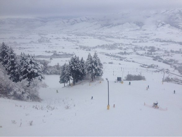 Great day, nice terrain park and no lift lines all day!!
