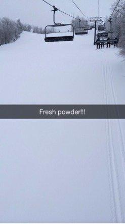 Fresh powder!!!