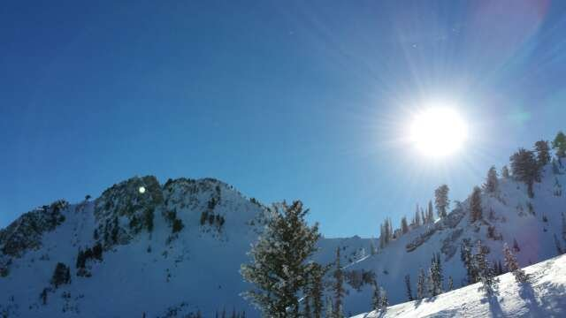 Fantastic bluebird Christmas day! Wonderful conditions!