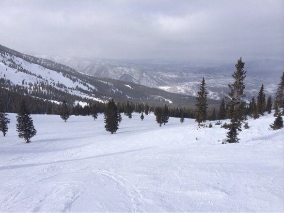 Snow mass was great today , elk lift is where it's at !!