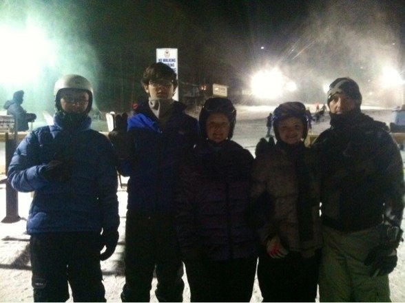 We had a great family trip. It wasn't too busy with lots of powder. We will go back again!