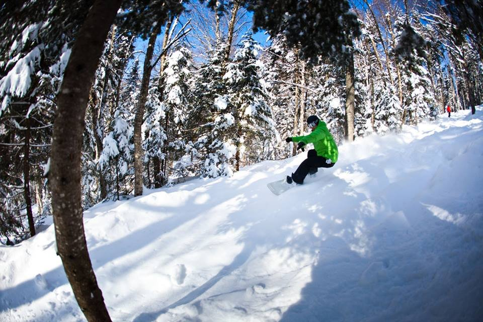 Find powder north of the border at Stoneham Mountain Resort.