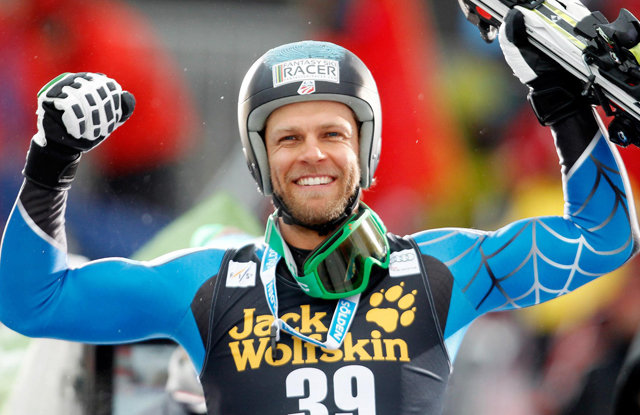 Nyman surged from a start position of 39 to win the 2012 Val Gardena downhill.