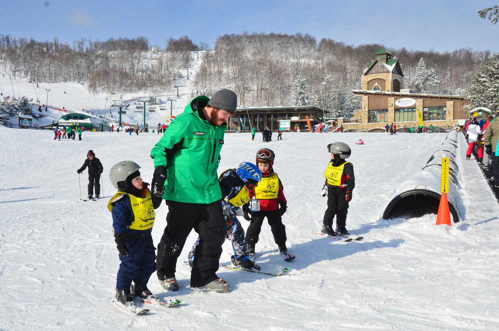 Ski School students - ©Seven Springs
