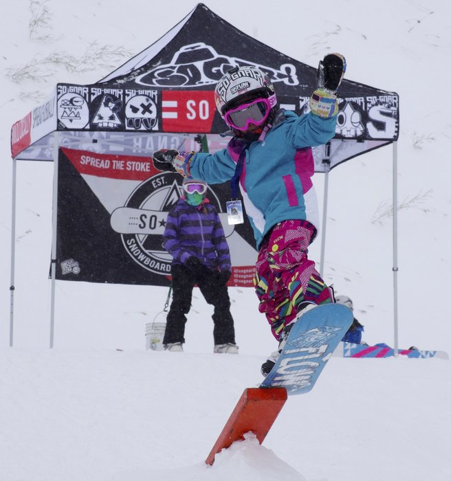 Shredder Sophia Capua at Loveland Ski Area.