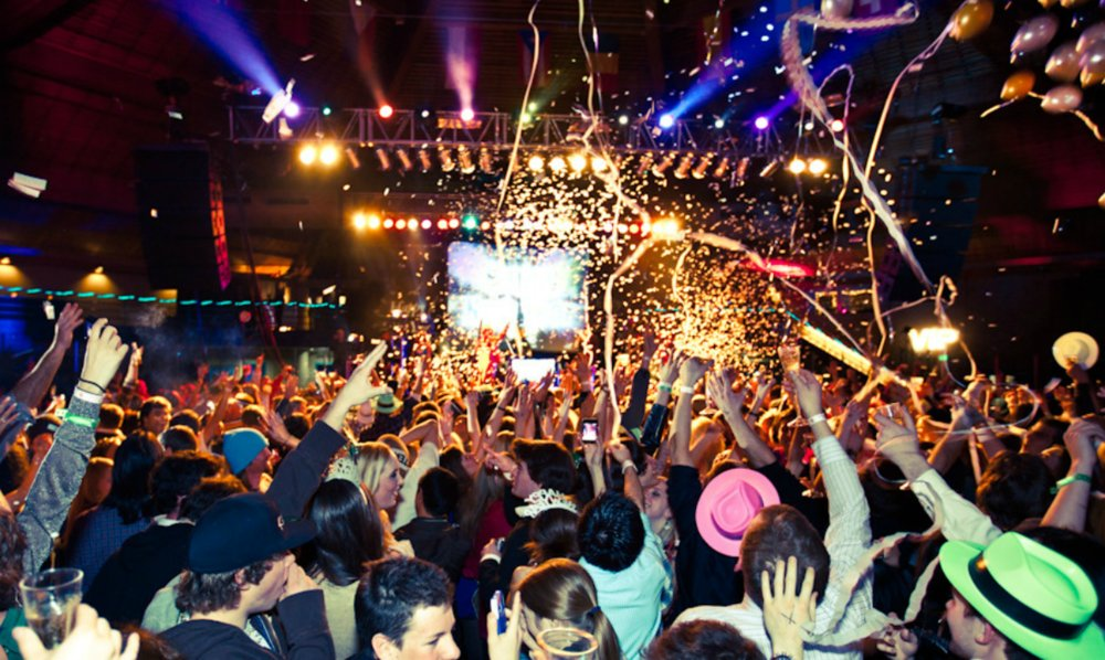 Vail celebrates New Years Eve in good form. - ©Highline