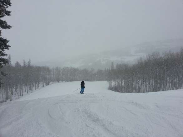 nice pow all day :) glad i was there