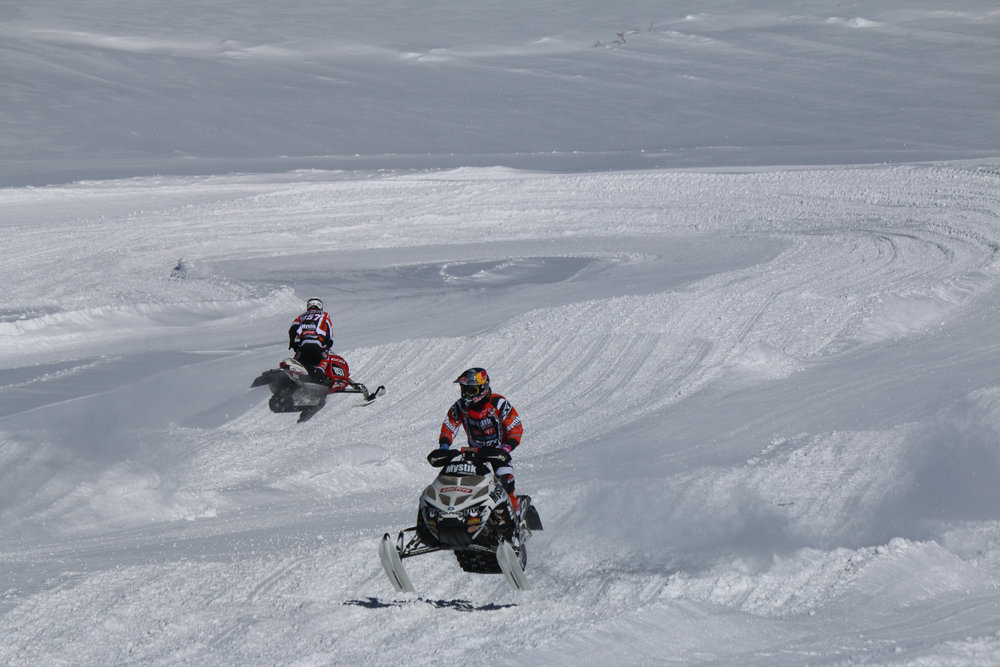 Roost the Butte returns to Crested Butte Mountain Resort for a 2-day festival of snowmobiling. - ©Courtesy of Crested Butte Mountain Resort.