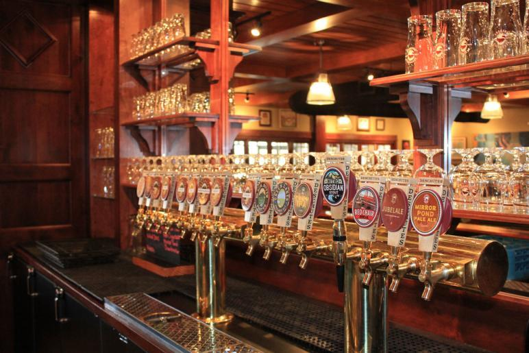 Deschutes Brewery Private Tap Room. Bend, OR. Photo Courtesy of the Brewery.