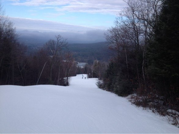 Skied Friday and conditions were not bad. Kudos to the grooming team for keeping what they have skiable.
