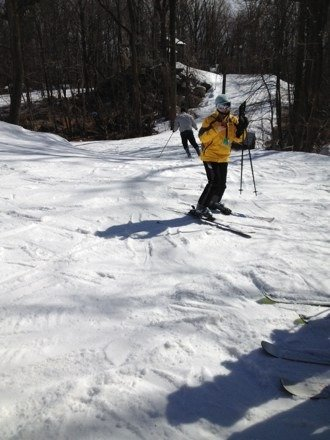Skiied yesterday. Great conditions. No lines
