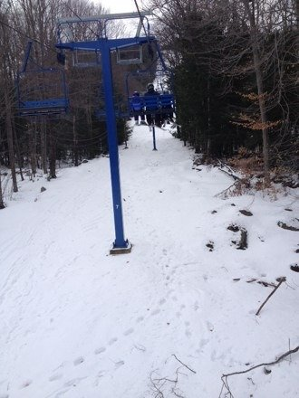 Decent trails. Lines never long. Easy mountain all-in-all.