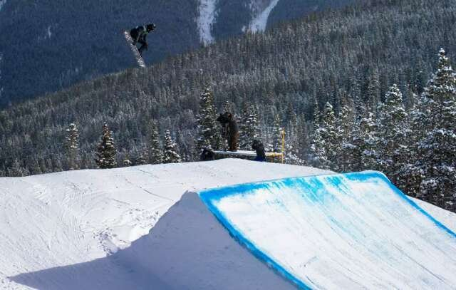 could use some new snow. a bit icy in spots but not terrible. great terrain parks.