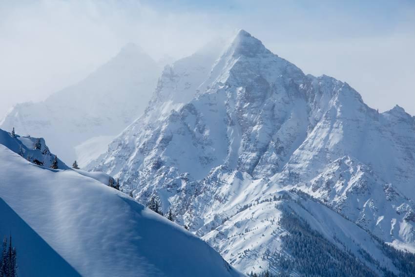 Pounds of powder in Aspen, February 2014 - ©Aspen/Snowmass