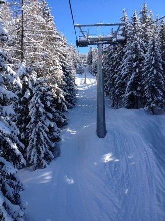 Giornata fantastica , neve ovunque piste ottime !! Posto magnifico !!!!