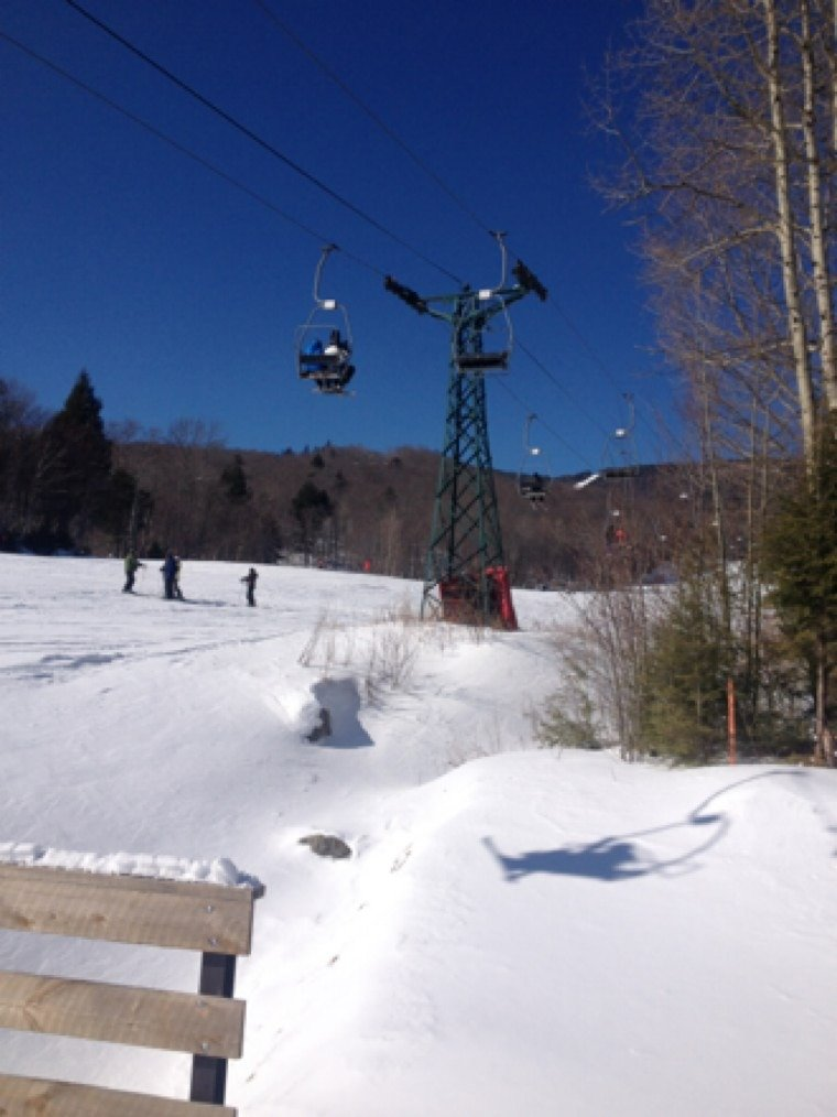 Great day!! got to heavens gate no lines  !!great day at sugarbush  !!lots of happy people!!!