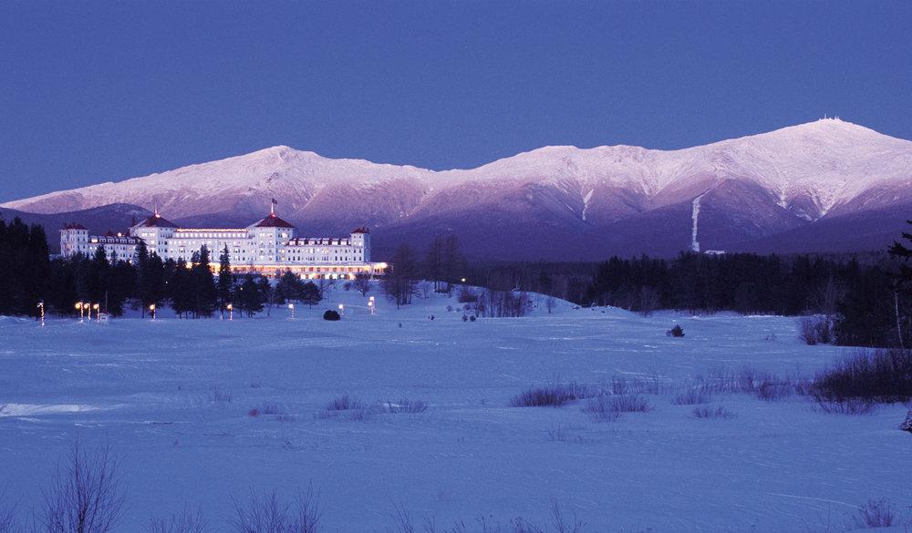 Mt. Washington hotel in Bretton Woods, NH