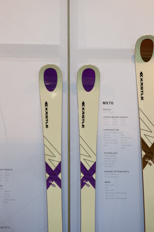 KÄSTLE launches a women's ski for 2014/2015, the MX70. - ©Ashleigh Miller Photography
