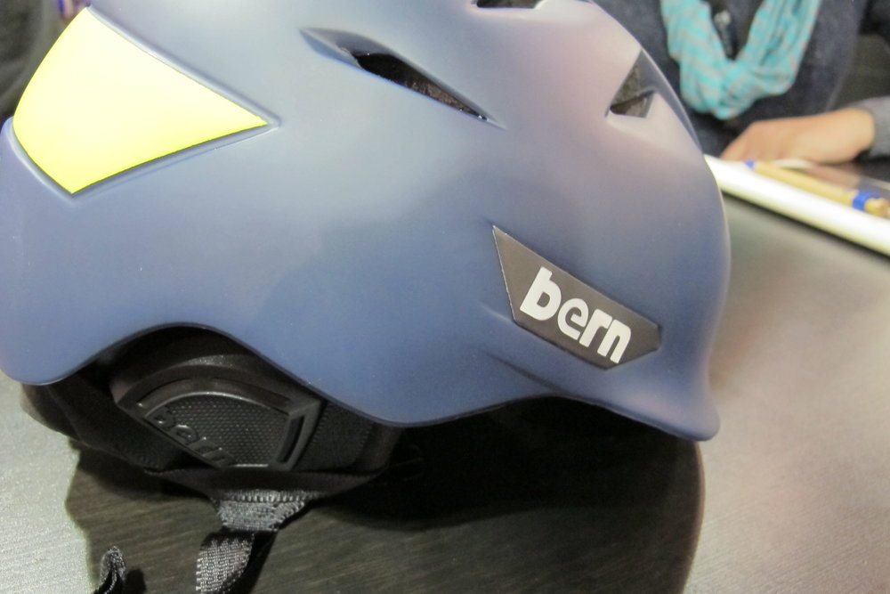 Bern's new snow-specific Kingston and Rollins helmets represent more of a ski focus for the company. - ©Eric Slayman