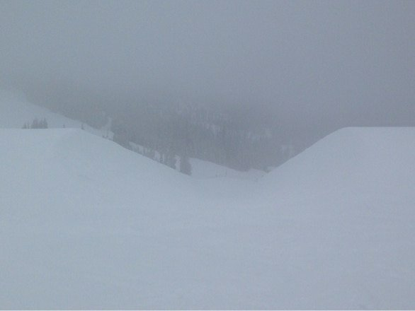 This is WP's half pipe. Great Day! Love the pow