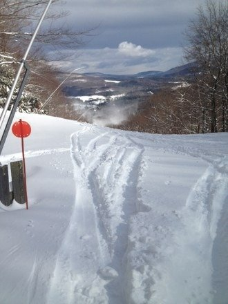 Amazing day every trail is open and the glades were fantastic with the powder should be a great weekend