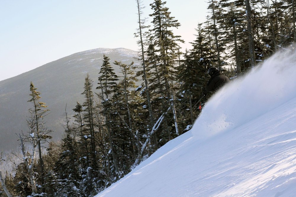 Clear skies reveal the bounty after a storm at Sugarloaf.