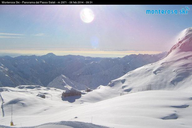 Gressoney, Monterosa Ski Feb. 6, 2014