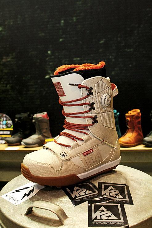 K2 snowboarding boots 2014/15 - ©Stefan Drexl