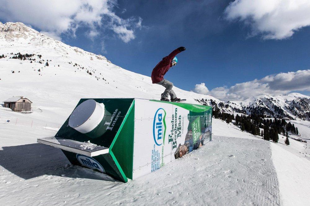 Obereggen - ©Obereggen snowpark