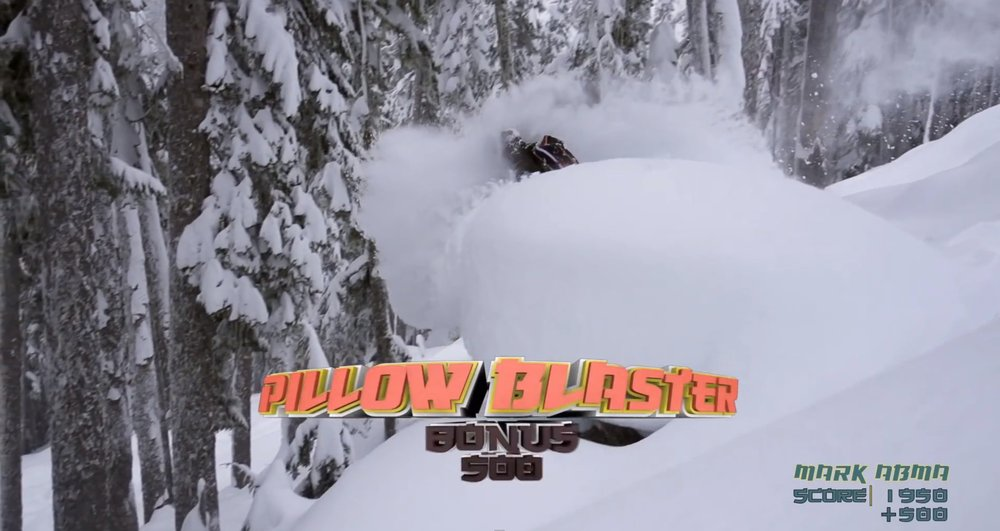 Salomon Freeski TV Super Pillow!