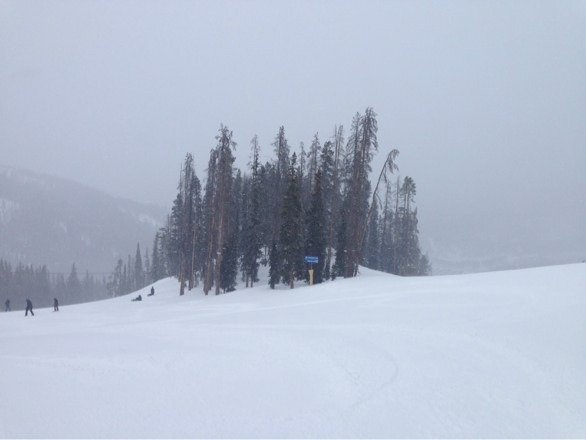 Snowing this morn, about 2