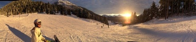 Great day at Alyeska. Will be back next time we get some fresh pow.