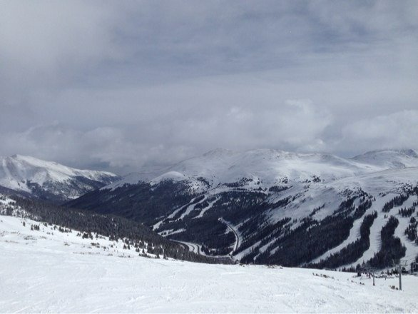 Awesome day of snowboarding!!! Pow everywhere