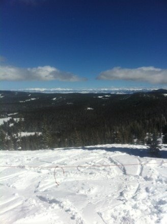 Gorgeous bluebird day with about 4