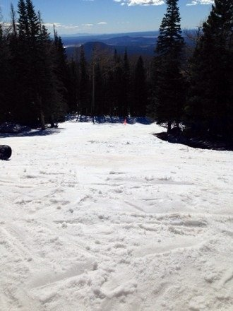 Good day today at the bowl. Enjoyed it!! Ice in the morning.