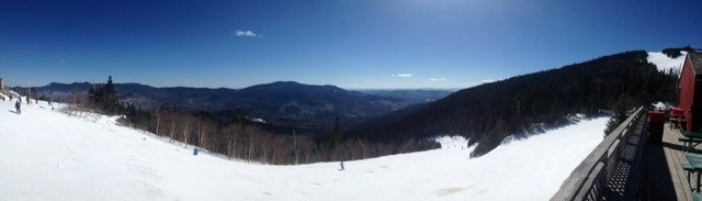 Great day!  Excellent conditions. A few icy spots were uncovered by the end of the day but overall excellent.