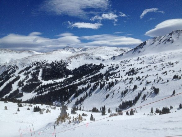 Was a great day there on Monday.  Pretty bumpy from the pow last Friday...
