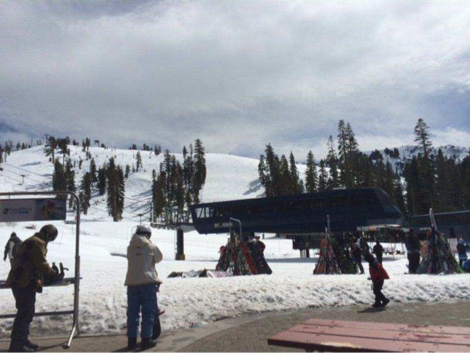 Fantastic spring skiing . Just what I needed!